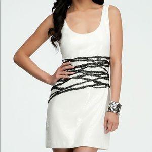 Bebe Size S sequins dress